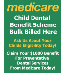 medicare Child Dental Benefit Scheme logo